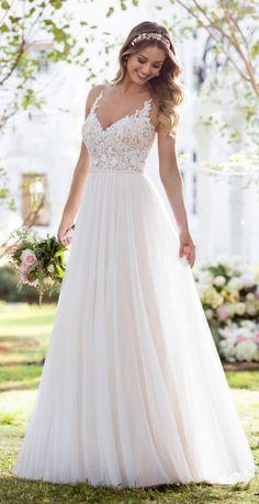 Featured Wedding Dress: Stella York; Wedding dress idea.