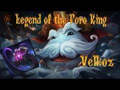 Legend of the Poro King - Velkoz League Of Legends, Random Stuff, Channel, King, Videos, Youtube, Movies, Movie Posters, Art