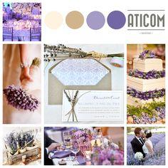 """Las invitaciones de boda """"Lavanda"""", con lavanda natural, nos trasladan directamente a la primavera y a los elementos orgánicos. #weddinginvitations #invitacionesdeboda #boda #invitacion #invitaciones #boda2015 #lavanda #lavender #flores #flowers"""