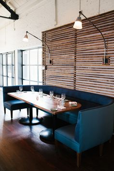 The Optimist | Smith Hanes. interiors, booth seating
