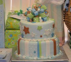 #star #baby shower #cake