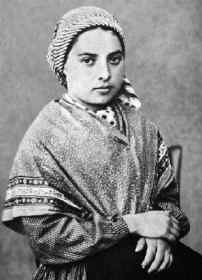 St. Bernadette, pray for us and all those who are ill.  Feast day April 16.