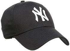 New Era Mens MLB Basic NY Yankees 9Forty Adjustable Baseball Cap, Black, One Size Features: NEW ERA Cap Adjustable size Arched brim Embroidered logo Manufacturer colour: black/white Fabric: 97% Cotton, 3% Spandex (Barcode EAN = 0886947030887). http://www.comparestoreprices.co.uk/december-2016-6/new-era-mens-mlb-basic-ny-yankees-9forty-adjustable-baseball-cap-black-one-size.asp