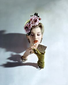 surreal fashion photo from the 50s