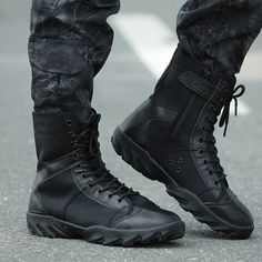 ca88502f76263 Tactical Men s Desert Camouflage Military Tactical Boots Men Outdoor Combat  Army Boots Climb on the special