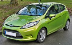 Ford Fiesta Green
