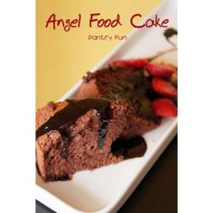 Angel food chocolate cake
