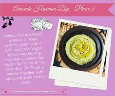 Avocado Hummus Dip - Phase 3