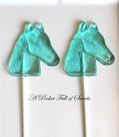 HORSE Party Favors Barley Sugar Hard Candy by APocketFullofSweets, $22.99