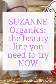 #ad How to up your beauty game with SUZANNE Organics: a cruelty-free organic line of clean and toxin free skincare, nail care, makeup, and other beauty products.   http://primp.in//R3KxS0FXnz  #suzanneorganics #beautyreview #beautytips #suzannesomers
