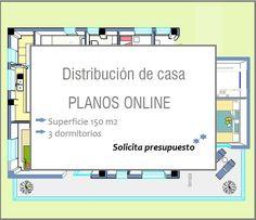 distribucion de casa Abitare Decoración  BLOG http://abitaredecoracion.com/blogpost/distribucion-de-casa-con-planos-online