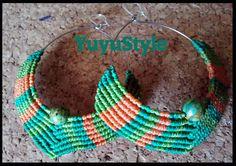 Yuyu Style _ Macramé y más: pendientes macramé