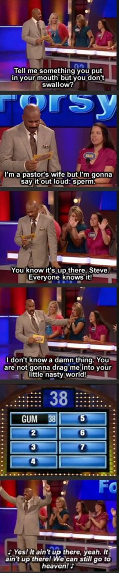 LOL Steve Harvey is the best thing to happen to family feud