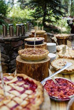Colorado Mountain Wedding with Farm Table Reception