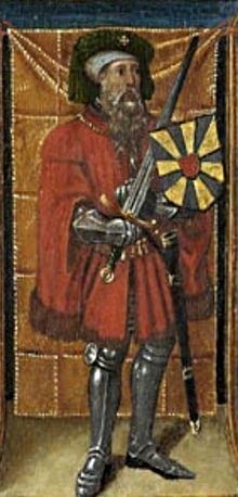 Baldwin IV, born c.980, was the son of Arnulf II, Count of Flanders (c. 961 - 987) and Rozala of Lombardy (950/60 – 1003), of the House of Ivrea.[1] He succeeded his father as Count of Flanders in 987,[1] but with his mother Rozala as the regent until his majority.