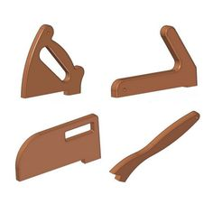 In front of you, there are drawings that will allow you to make several variants of push sticks (notched push sticks and shoe push sticks). Woodworking Hand Tools, Wood Tools, Woodworking Workshop, Woodworking Techniques, Woodworking Projects Diy, Woodworking Tools, Wood Projects, Cleaning Wood, Garage Tools