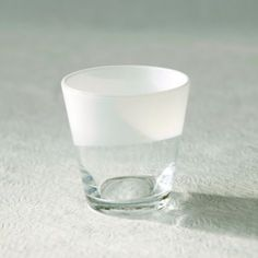 Holiday Place Setting: Terrain Two-Tone Tumbler in White | $14 (small)
