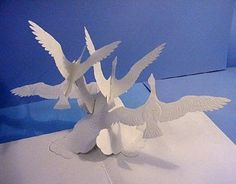 Pop-Up Books Books Cards: Site Keith Moseley, paper engineer, illustrator and author of books pop-up Paper Pop, 3d Paper, Paper Crafts, Foam Crafts, Kirigami, Up Book, Book Art, Arte Pop Up, Origami Templates