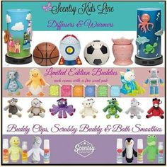 Great gift ideas for kids, tweens, teens, & don't forget Baby Showers!  www.christinataylor.scentsy.us