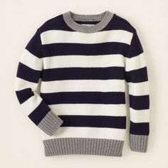 baby boy - sweaters - striped sweater | Children's Clothing | Kids Clothes | The Children's Place