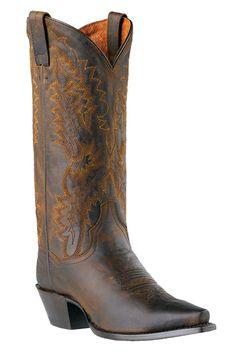 Dan Post Women's Santa Rosa Bay Dirty Bull Cowgirl Boots