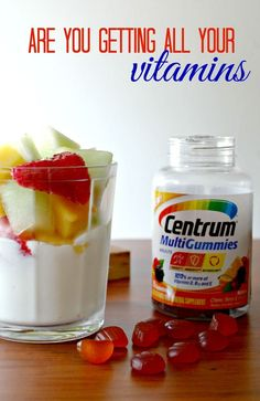 Are you getting all your vitamins from food? Or can your diet use a bit of help to be more healthy? #CentrumVitamins #ad