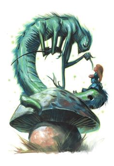 Alice in Wonderland by Gabriele Dell'Otto