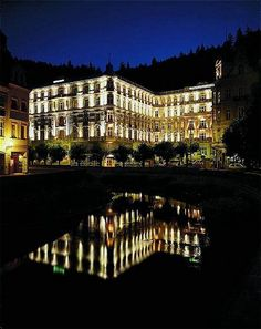 Grand Hotel Pupp, Czechoslovakia. As drooled over in Queen Latifah's movie Last Holiday.