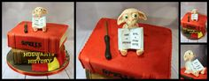 Harry Potter/ Dobby cake