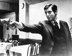 The Godfather Marlon Brando Al Pacino poster 24 x 36 Al Pacino, Marlon Brando, The Godfather Poster, Godfather Movie, Godfather Series, Godfather Quotes, Corleone Family, Don Corleone, Martin Scorsese