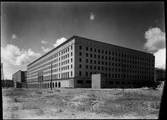Construcción de los Nuevos Ministerios, década de 1930 | Madrid
