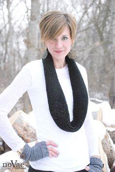 Ideas for wearing infinity #scarves #BrassyApple: #WhatIwore @Nova Hinegardner Ebersole Clothing
