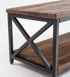 Allegheny Reclaimed Wood Table/Bench | PlowHearth Wood, Nesting Tables, Coffee Table Wood, Versatile Furniture, Reclaimed Wood Table, Bench Table, Reclaimed Wood Coffee Table, Reclaimed Wood, Wood Table