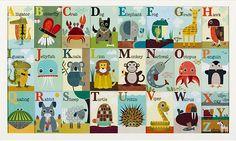 Alphabet Zoo by Jen Ski