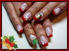 It`s all about nails: Christmas Elf #nail #nails #nailart