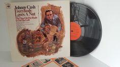 JOHNNY CASH everybody loves a nut, 62717 - FOLK, FOLK ROCK, COUNTRY and folkish music! #LP Heads, #BetterOnVinyl, #Vinyl LP's