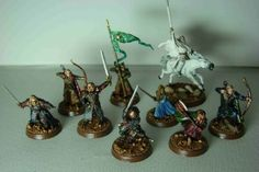 LOTR.  Lord of the Rings.  Games Workshop. Heroes. Lotr, Warhammer Figures, Ring Game, Battle Games, Middle Earth, Lord Of The Rings, The Hobbit, Decorative Bells, Bonsai