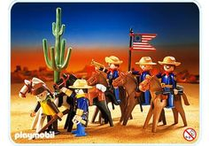 US - Cavalleria (3485) Playmobil Sets, Wrangler Shirts, 80s Kids, Equine Art, Legoland, Old Toys, Wild West, Trees To Plant, Vintage Toys