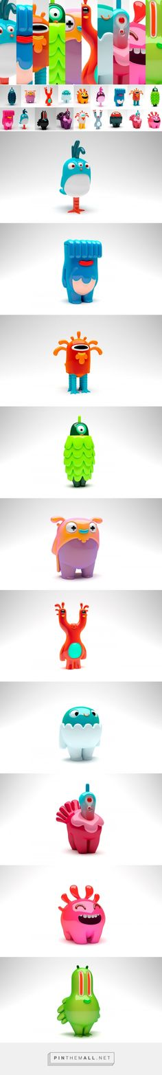 Character design for Roooster on Behance - created via https://pinthemall.net