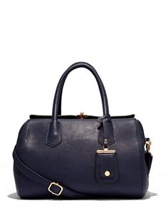 Shop Eva Mendes Collection - Pebblegrain Satchel  . Find your perfect size online at the best price at New York & Company.