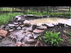 SWALES, PONDS, AND SPILLWAYS IN THE RAIN VIDEO