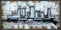 LOST CITY  [24x48] Lost City, Floor Plans, Art, Art Background, Kunst, Gcse Art, House Floor Plans, Art Education Resources, Artworks