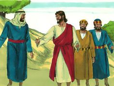As they were coming down the mountain, Jesus gave them orders not to tell anyone what they had seen until He had risen from the dead. They kept the matter to themselves, discussing what 'rising from the dead' meant. Free Bible Images, Bible Pictures, Free Stories, Bible Stories, Luke 9, Matthew 17, Bible News, Bible Activities, New Testament