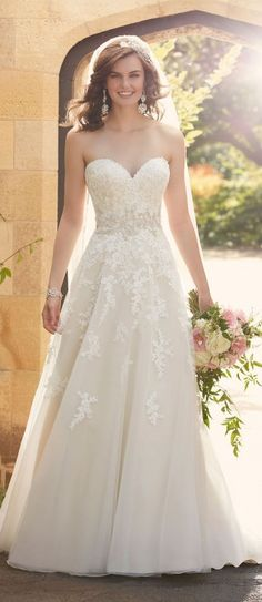 Browse beautiful Essense of Australia wedding dresses and find the perfect gown to suit your bridal style. Lace Wedding Dress, 2016 Wedding Dresses, Sweetheart Wedding Dress, Bridal Dresses, Wedding Gowns, Bridesmaid Dresses, Dress Lace, Wedding Speeches, 2017 Wedding