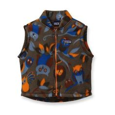 Patagonia Baby Synchilla® Vest.  REPREVE®. It's What's In It™.