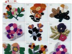 2180 Crochet Motifs - Donna Taylor - Álbuns da web do Picasa Crochet Motif, Crochet Stitches, Crochet Patterns, Ribbon Design, Irish Lace, Crochet For Kids, Flower Crafts, Handicraft, Cross Stitch Embroidery