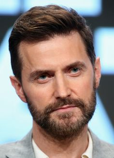 Actor Richard Armitage speaks onstage during the 'Berlin Station' panel discussion at the EPIX portion of the 2016 Television Critics Association Summer Tour at The Beverly Hilton Hotel on July 30, 2016 in Beverly Hills, California.
