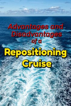 See why we love repositioning cruises. They allow us to enjoy all the benefits of for less money as the ships move to new homeports between seasons. Best Cruise, Cruise Tips, Cruise Travel, Cruise Vacation, Solo Travel, Vacation Trips, Vacation Deals, Travel Packing, Train Travel