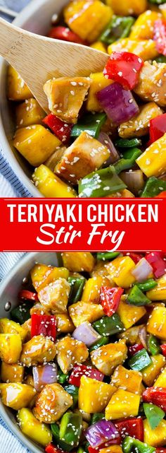 Teriyaki Chickenkn y Recipe | Teriyaki Chicken | Chicken Stir Fry | Healthy Chicken Recipe
