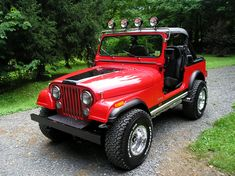 Red CJ7